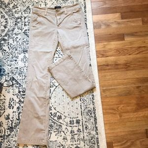 American Eagle Khakis Kick Boot Pants. Size 0